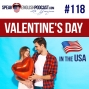 Artwork for #118 Valentine's Day in the USA