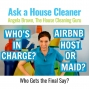 Artwork for Airbnb Host or House Cleaner - Who is in Charge?