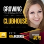 Artwork for Growing Your Brand On Clubhouse, with Rita Goodroe - ACEWEEKLY079