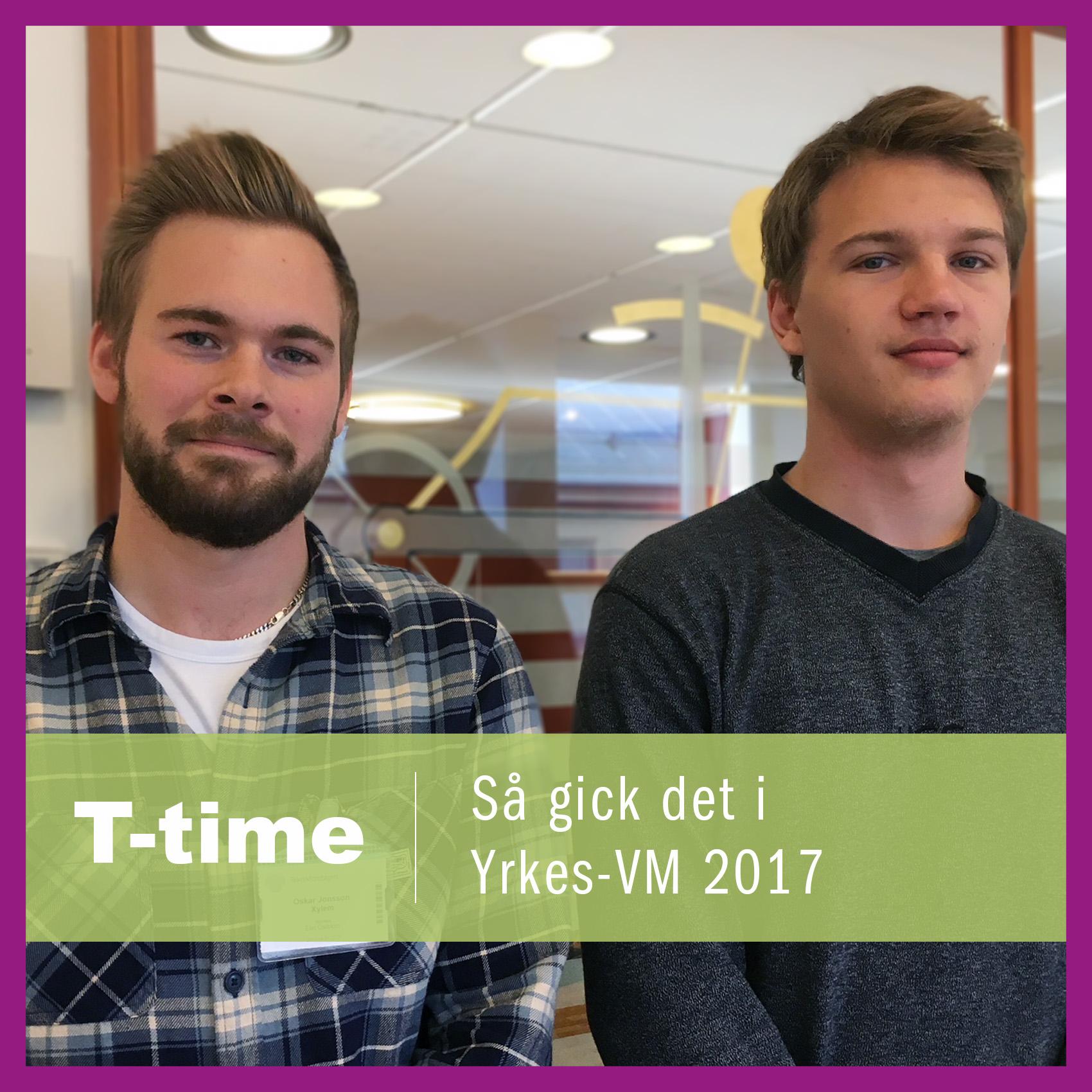 Artwork for Så gick det i Yrkes-VM 2017 - Joel Lindh och Oskar Jonsson berättar