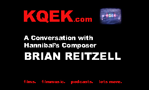 KQEK.com --- Interview with film composer Brian Reitzell (2016)