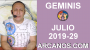 Artwork for HOROSCOPO GEMINIS - Semana 2019-29 Del 14 al 20 de julio de 2019 - ARCANOS.COM