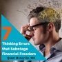 Artwork for 7 Thinking Errors That Sabotage Success - Queer Money Ep. 169