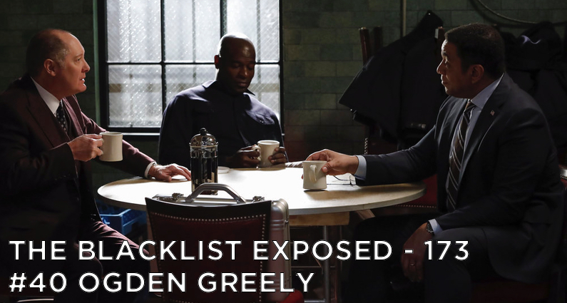 Cooper meets with Red and Dembe.