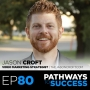 Artwork for 80: How to Start a YouTube Channel - Jason Croft - Video Marketing Strategist