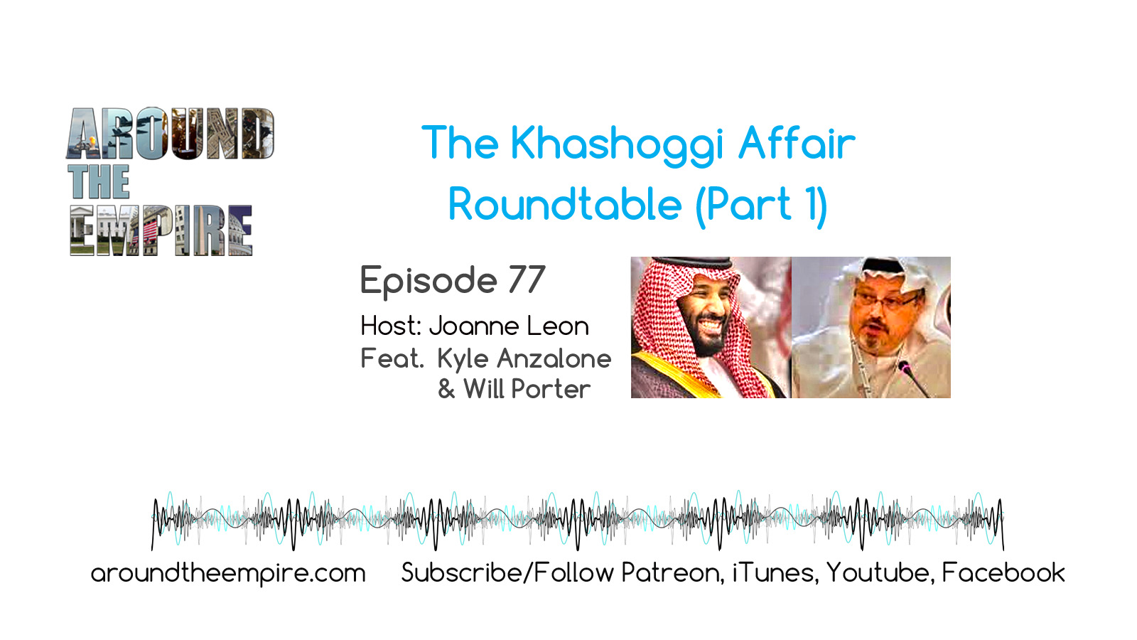 Ep 77 The Khashoggi Affair - Part 1