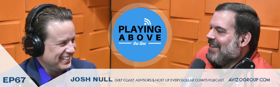 Josh Null on the Playing Above The Line podcast with Allen Cave