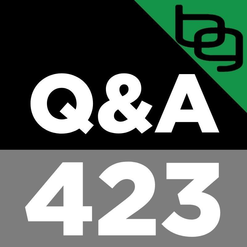 Q&A 423: Does Weed Make You Stupid & Does Cannabis Affect Testosterone?, What's The Best Pre-Workout Formula?, Should Teens Fast? & Much More.