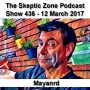 Artwork for The Skeptic Zone #438 - 12.March.2017