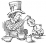 Artwork for Alice's Adventures in Wonderland - Chapter 7 - A Mad Tea Party