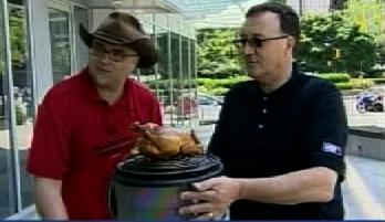 Ronnie and Gary Johnstone talk BBQ gear on Urban Rush