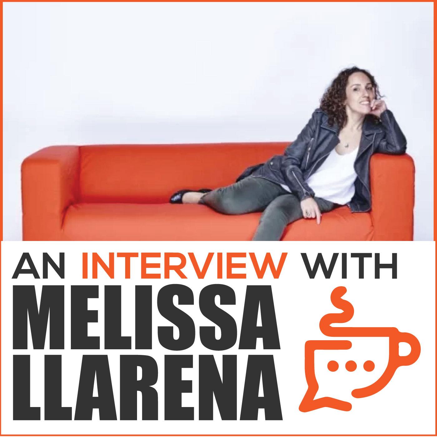 An Interview with Melissa Llarena show art
