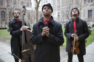 The Mighty Third Rail (Poet: Darian Dauchan, Bassist: Ian Baggette, Violinist: Curtis Stewart) - Victor's Lullabye