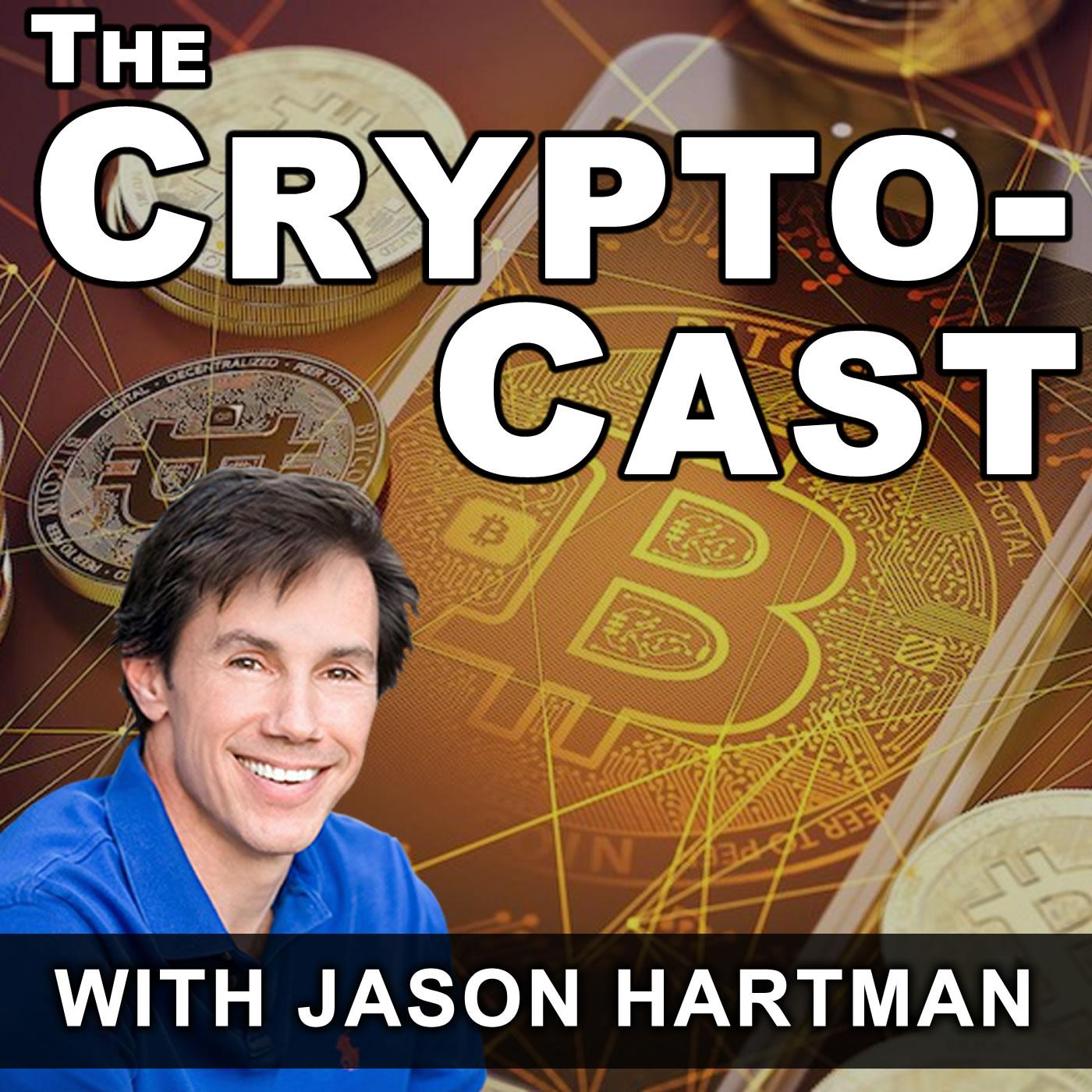 The CryptoCast with Jason Hartman show art