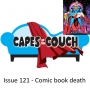 Artwork for Issue 121 - Comic book death