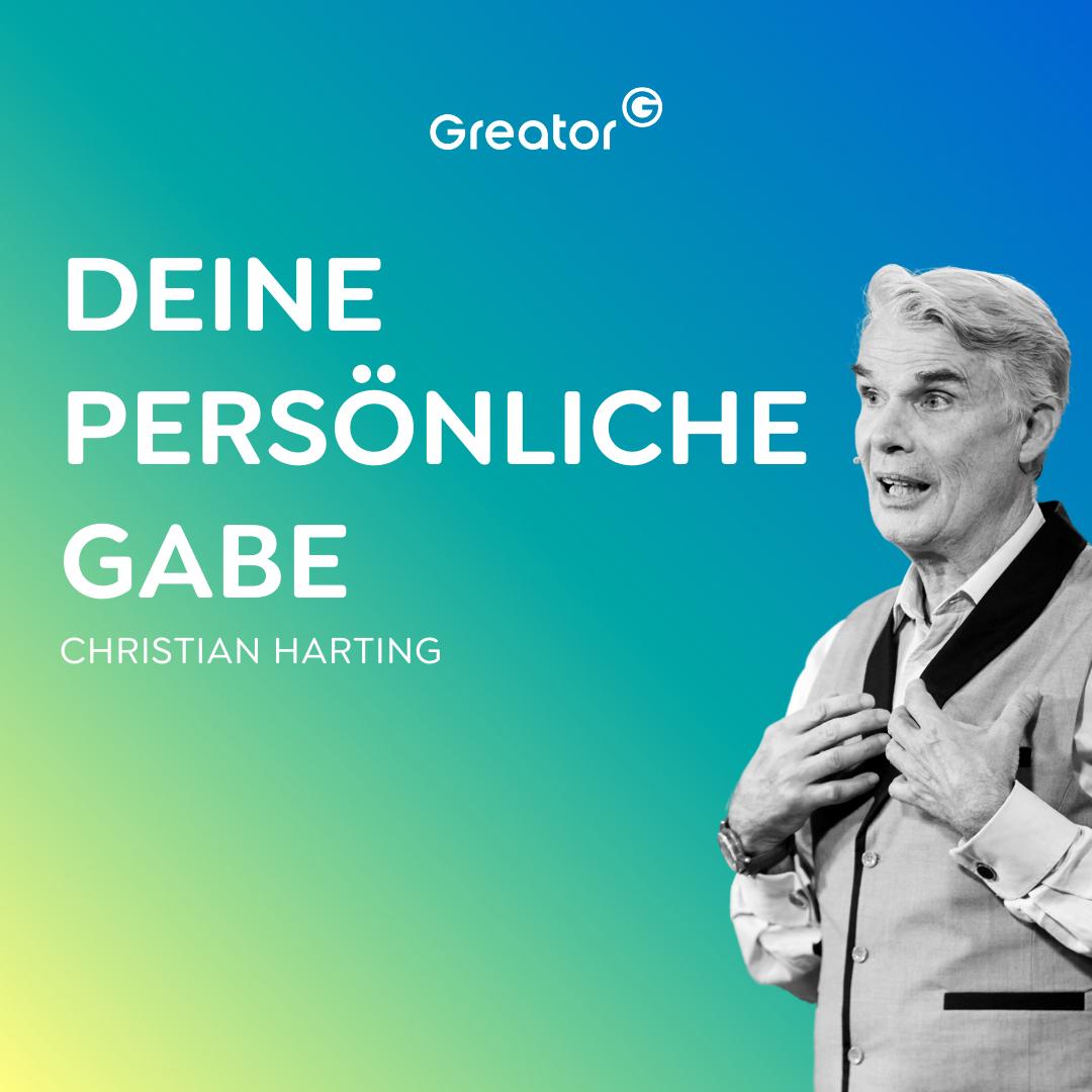 #808 Fülle im Leben: Warum Geben dich wirklich glücklich macht // Christian Harting
