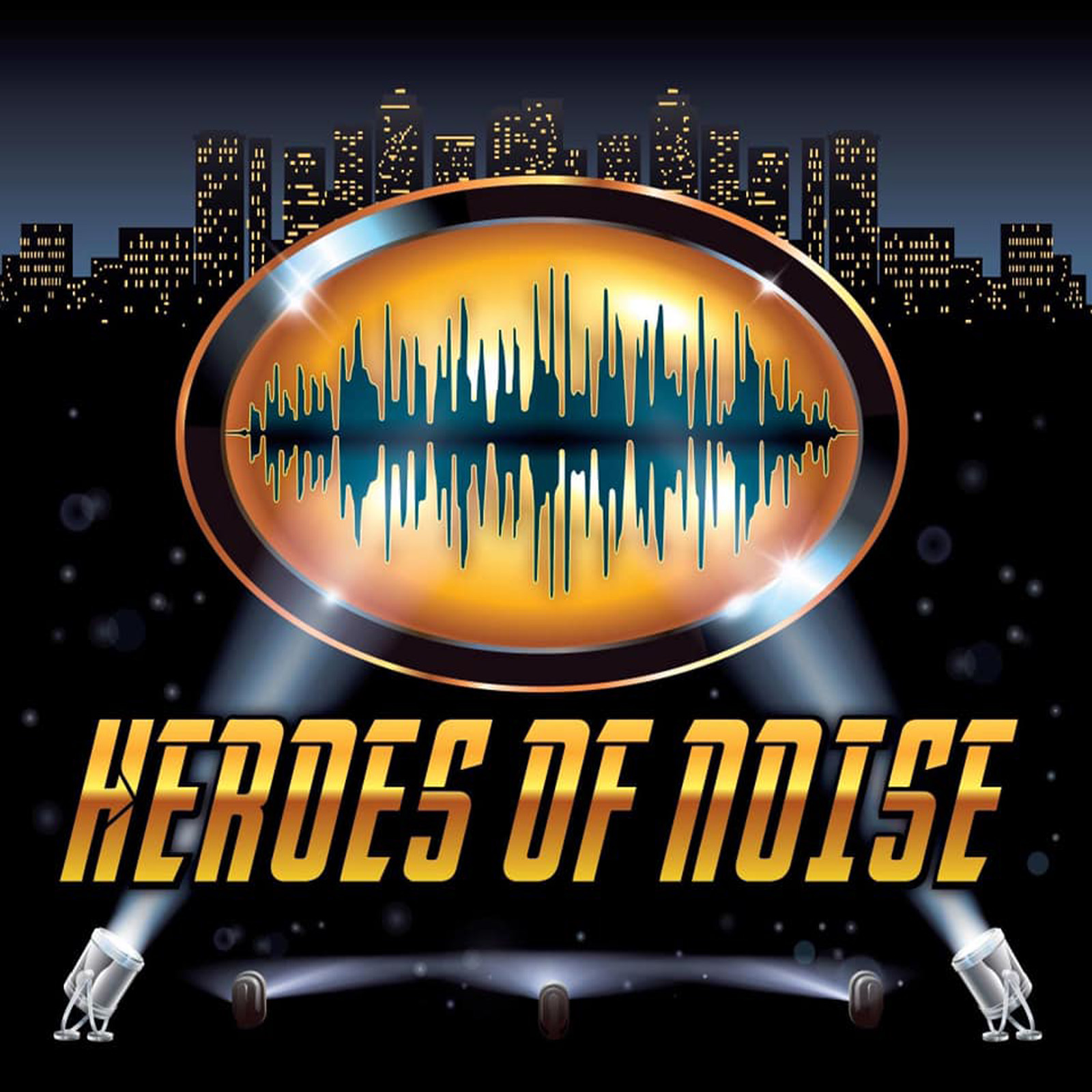 Heroes of Noise show art