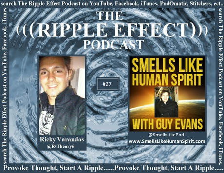 Guy Evans interview on 'The Ripple Effect' Podcast (05/03/14)
