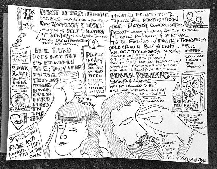 Sabbadoodle - Johnny Gwin - 032617 - BLind Man - David - Gospel of John