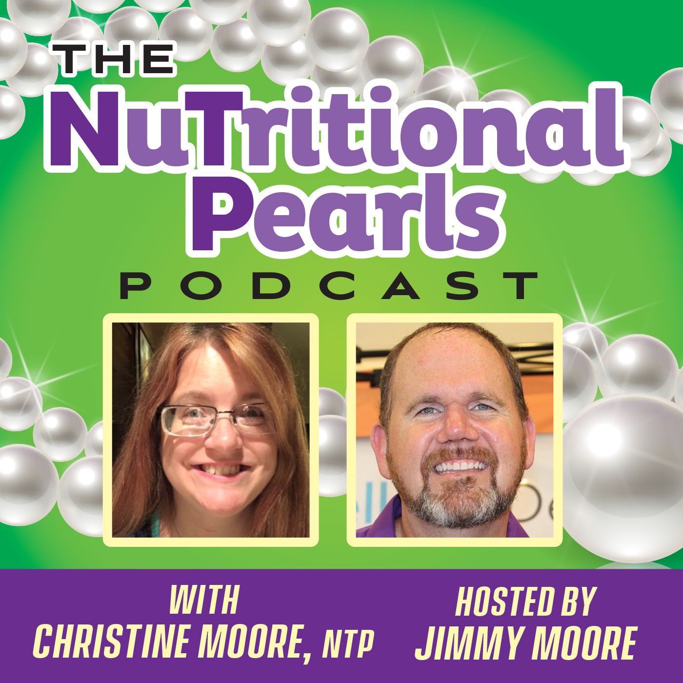 The NuTritional Pearls Podcast show art