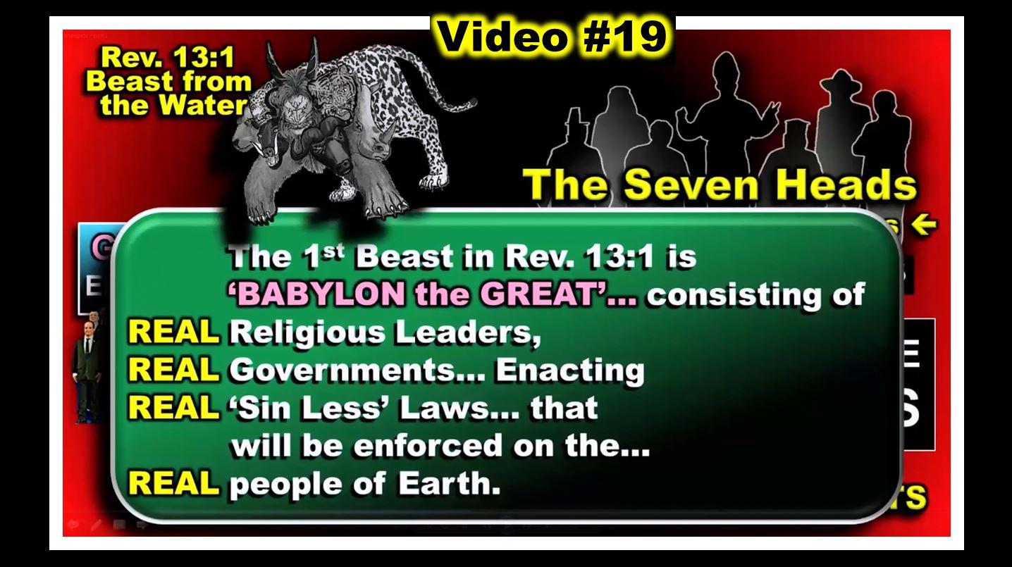 #19 - SHOTGUN MARRIAGE - THE DEVIL  MARRIES BABYLON