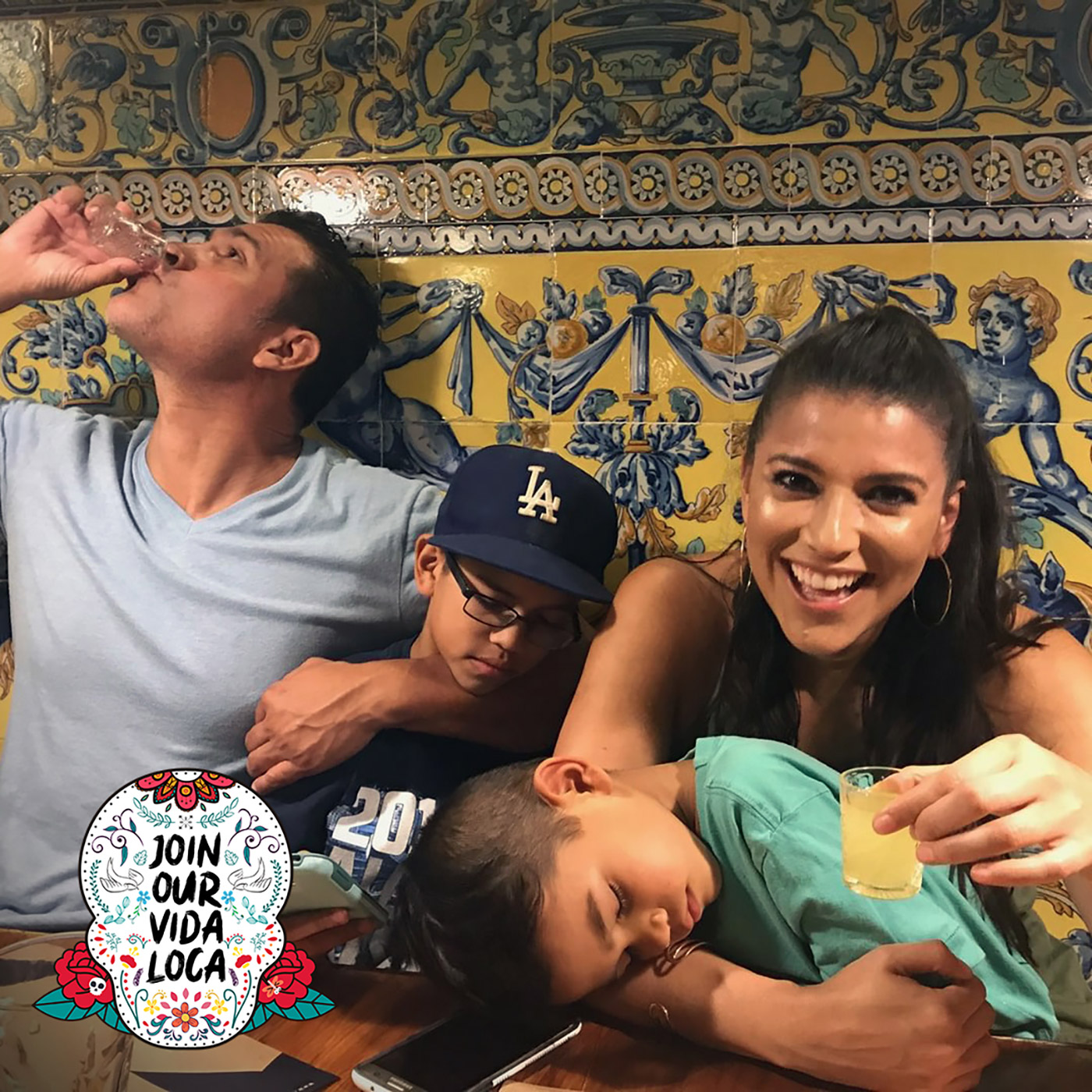 Join Our Vida Loca Family Travel Podcast show art