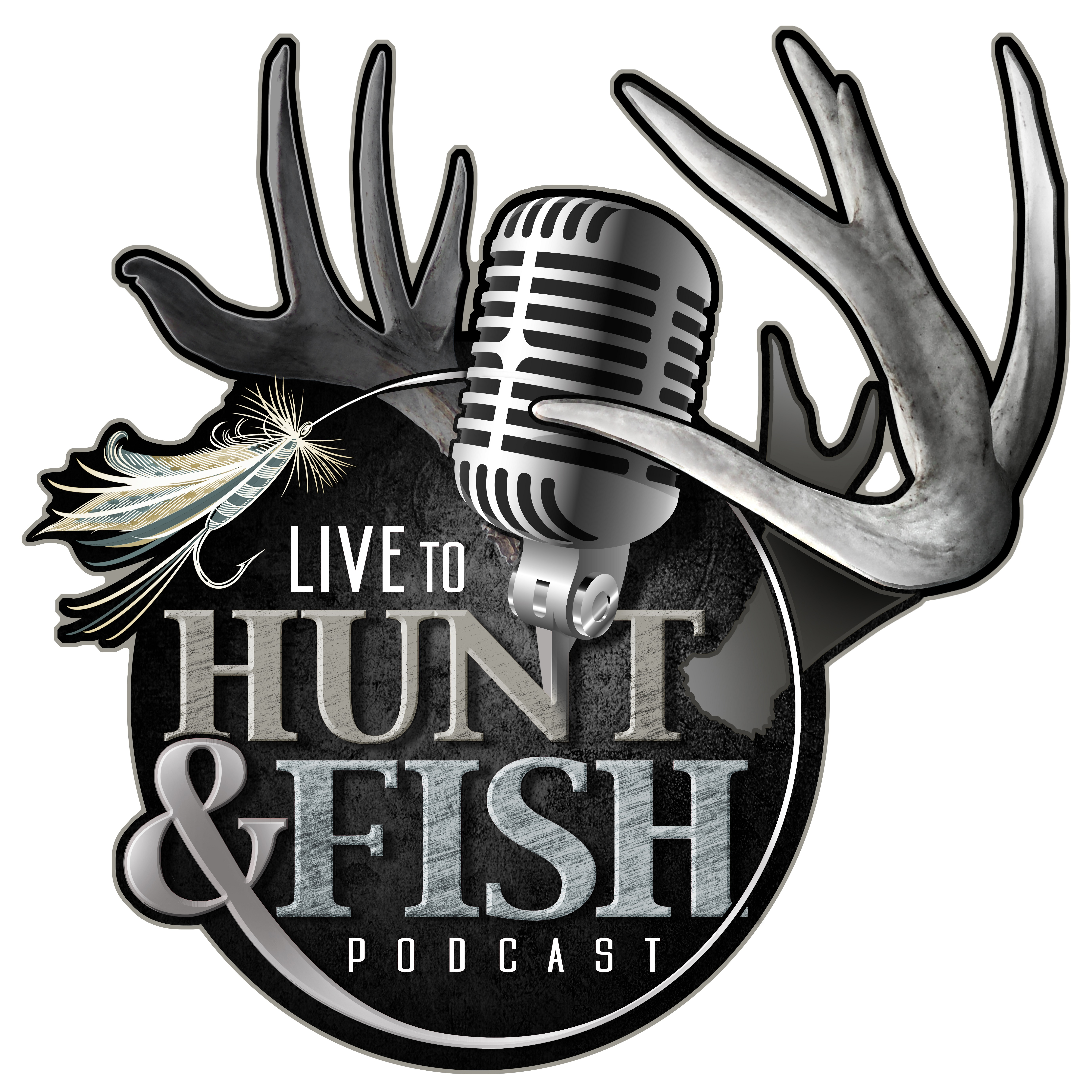 Live to Hunt and Fish Podcast show art