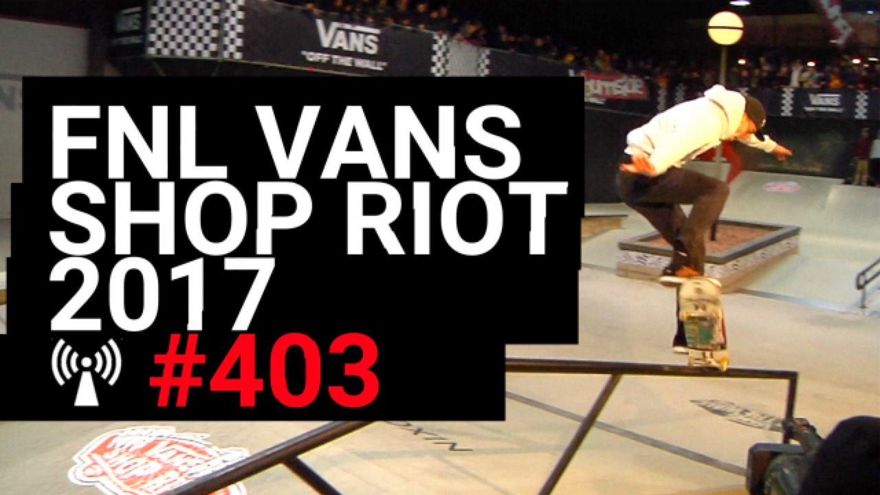 Artwork for Vans Shop Riot 2017 Finals - Pier 15 Skatepark