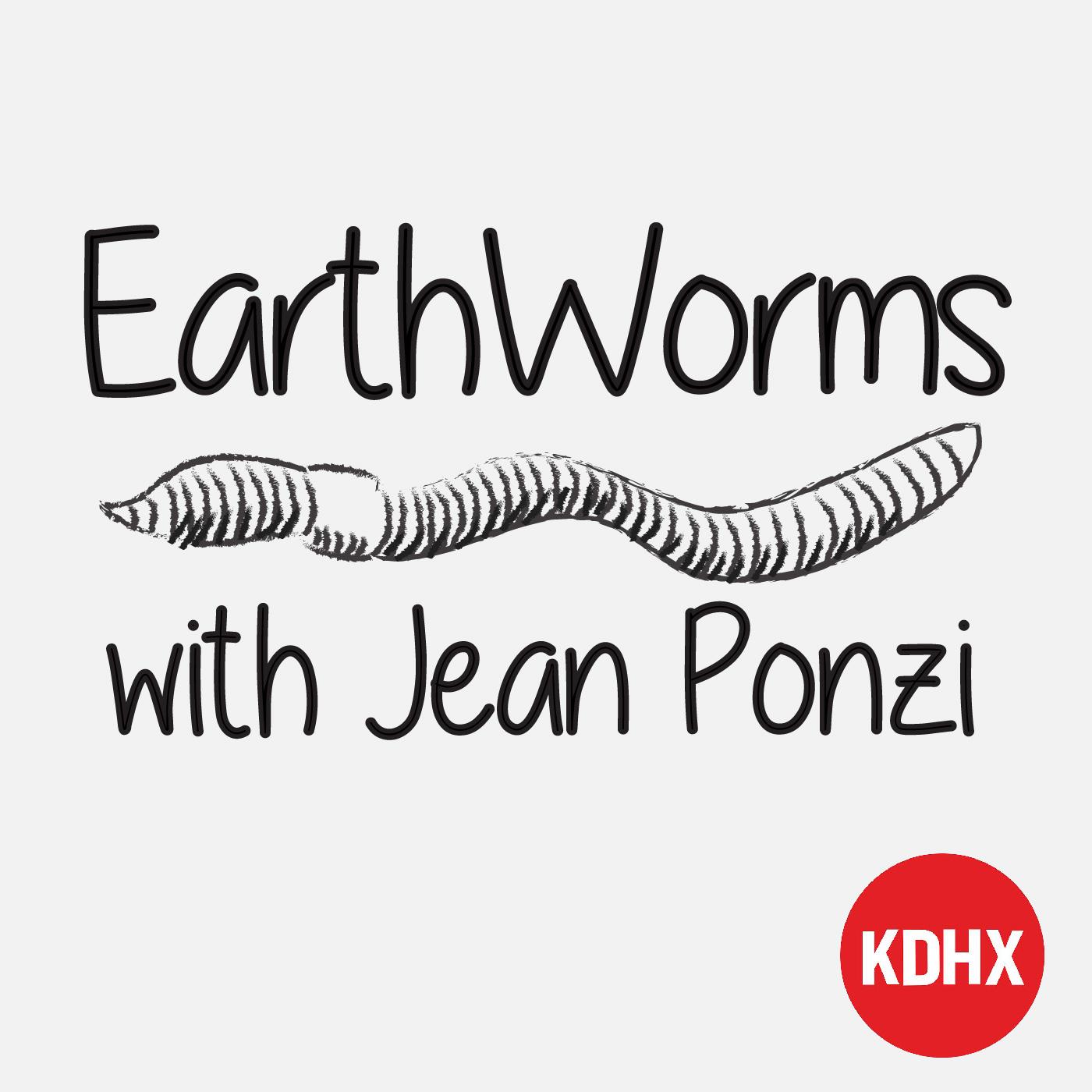 Earthworms show art