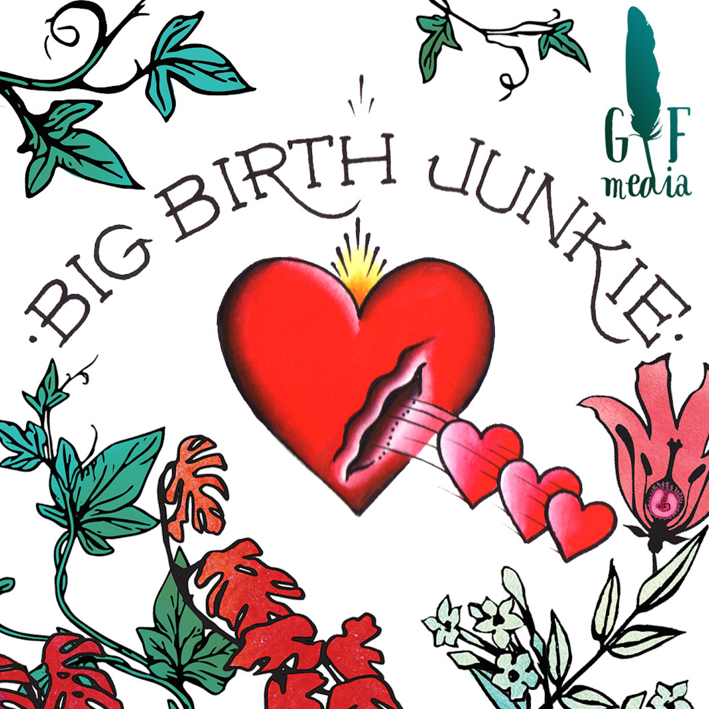 Big Birth Junkie show art