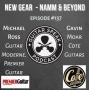 Artwork for New Gear NAMM & Beyond - Michael Ross (Guitar Moderne, Premier Guitar) & Gavin Moar (Cote Guitars)