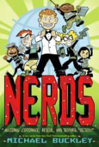 Max Interviews The Sisters Grimm & NERDS Author Michael Buckley. Plus New CONTEST To Win NERDS Book