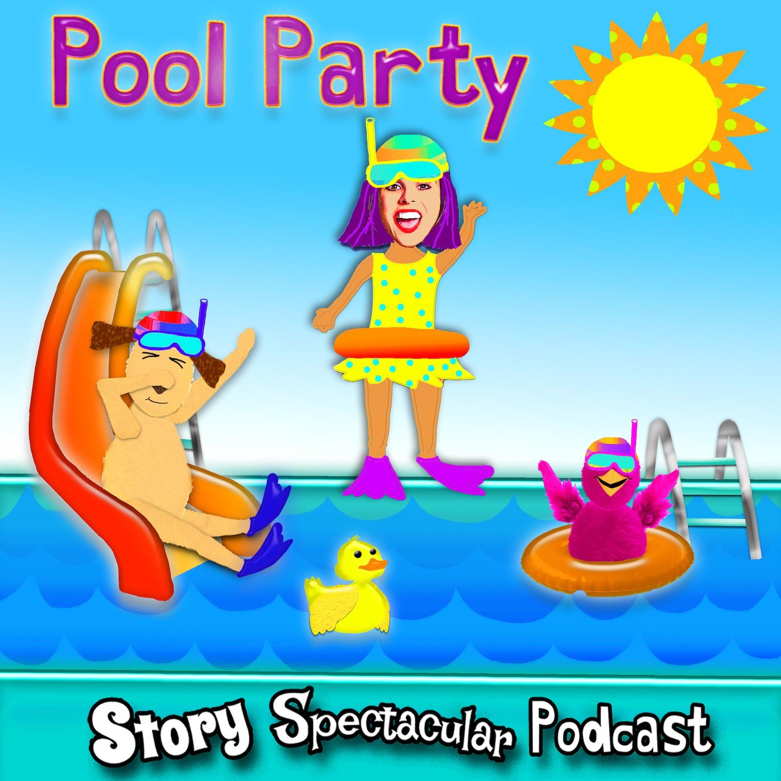 The SPECTACULAR Pool Party