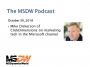 Artwork for MSDW Podcast: Mike Dickerson of ClickDimensions on marketing tech in the Microsoft channel