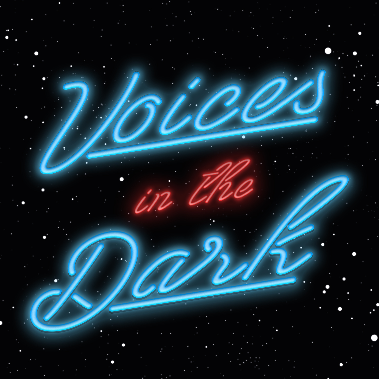 Voices in the Dark show art