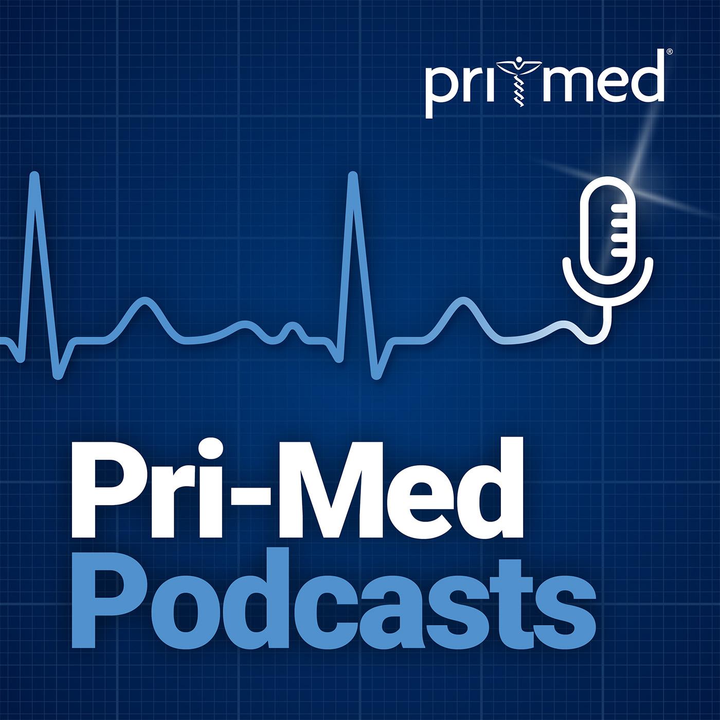 Pri-Med Podcasts show art