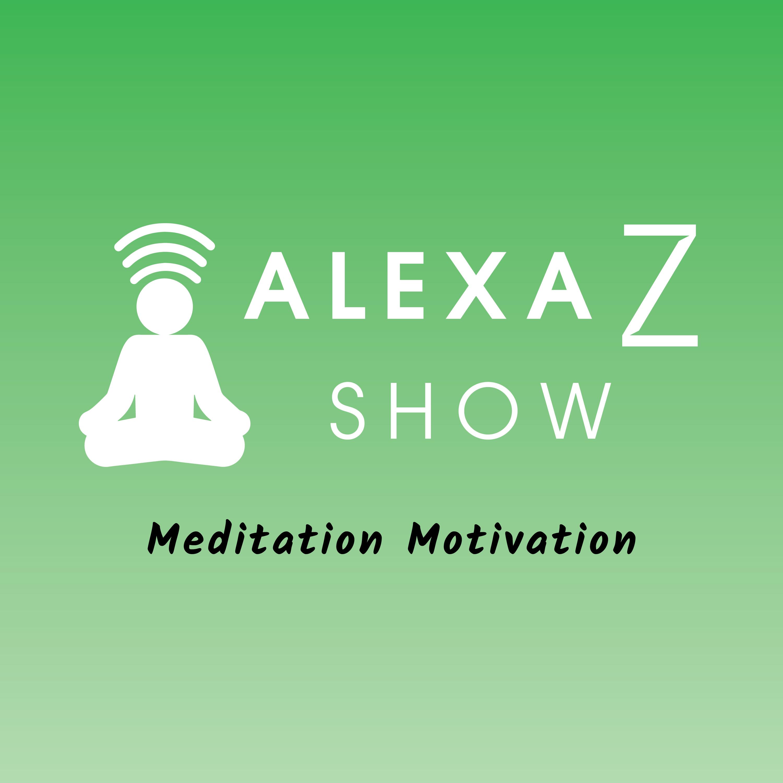 Alexa Z Show - Meditation Motivation show art