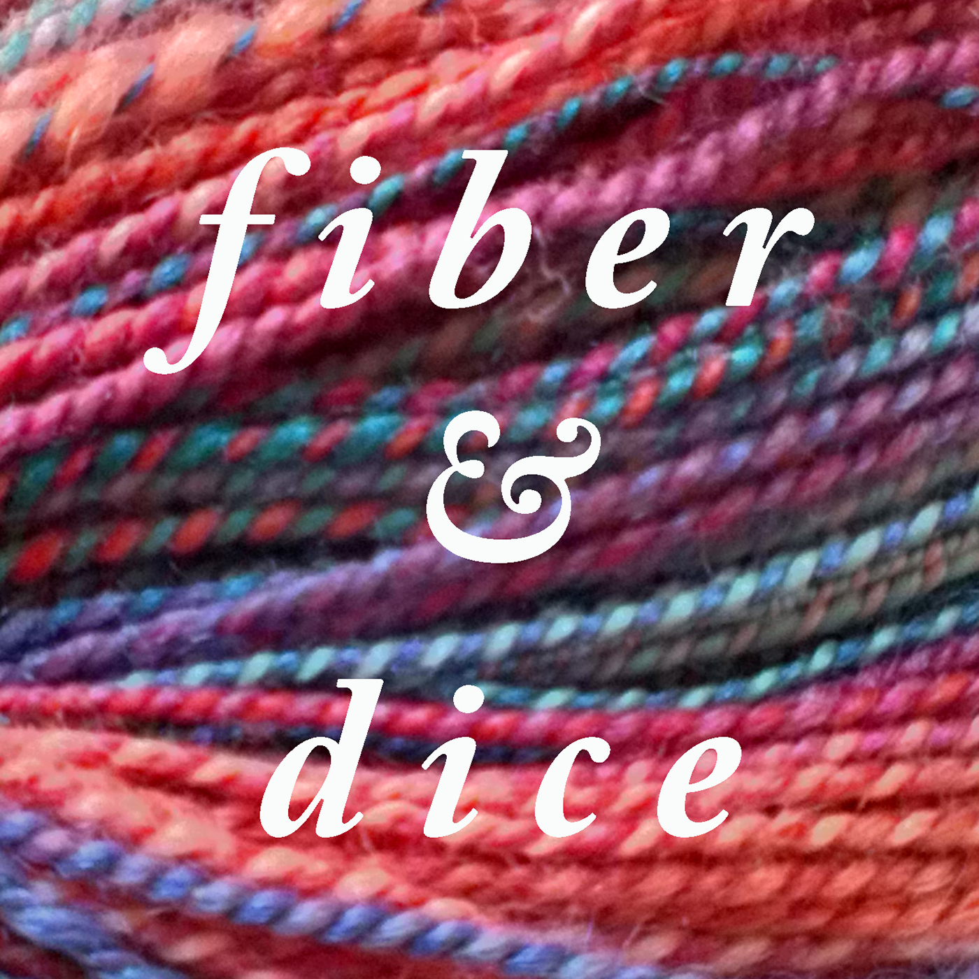 fiberanddice podcast show art