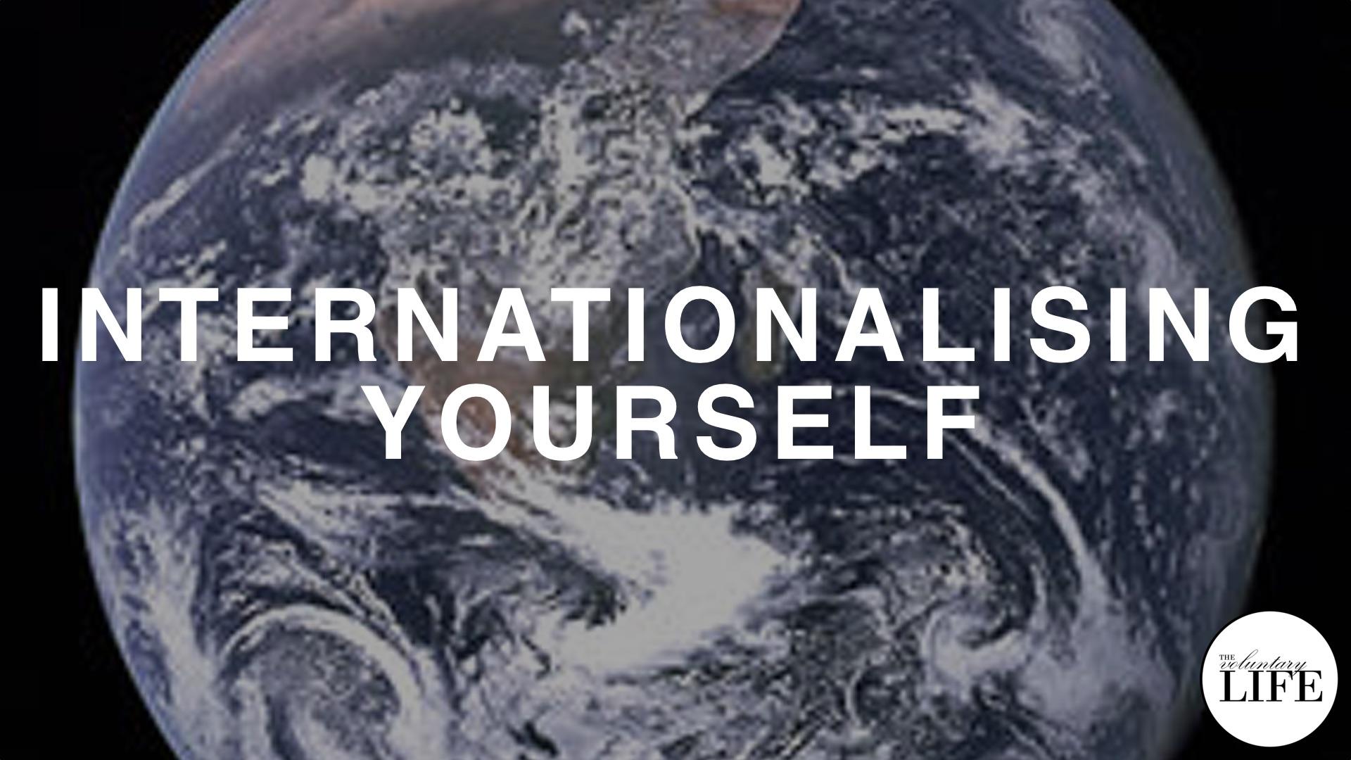 77 Internationalising Yourself