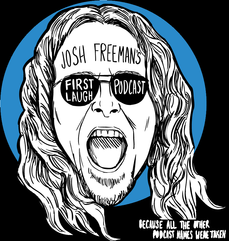 First Laugh Podcast show art