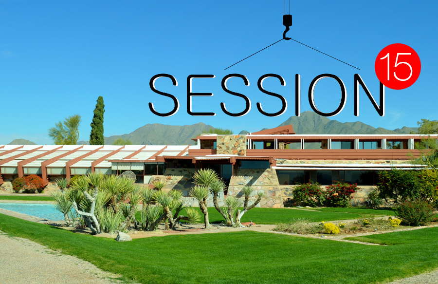 Session 15: Let's be Frank: A conversation with Aaron Betsky, incoming Dean at Taliesin