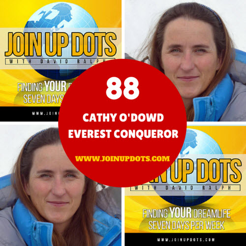 Cathy O'Dowd: The First Lady To Climb Everest By Both Sides Joins Up Dots