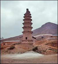 Bodhidharma's Stupa
