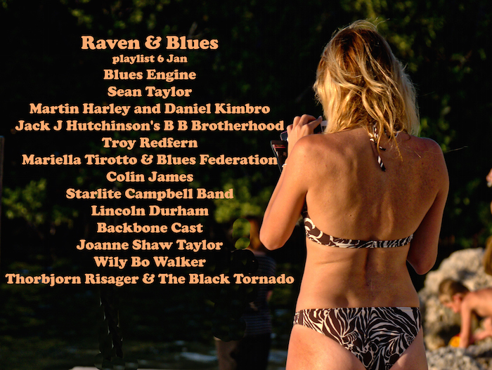 Raven and Blues 6 Jan 2017