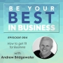 Artwork for EP004 - How to get Fit For Business with Andrew Bridgewater