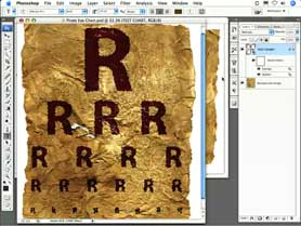 Create Non-destructive Text Effects In Photoshop CS3