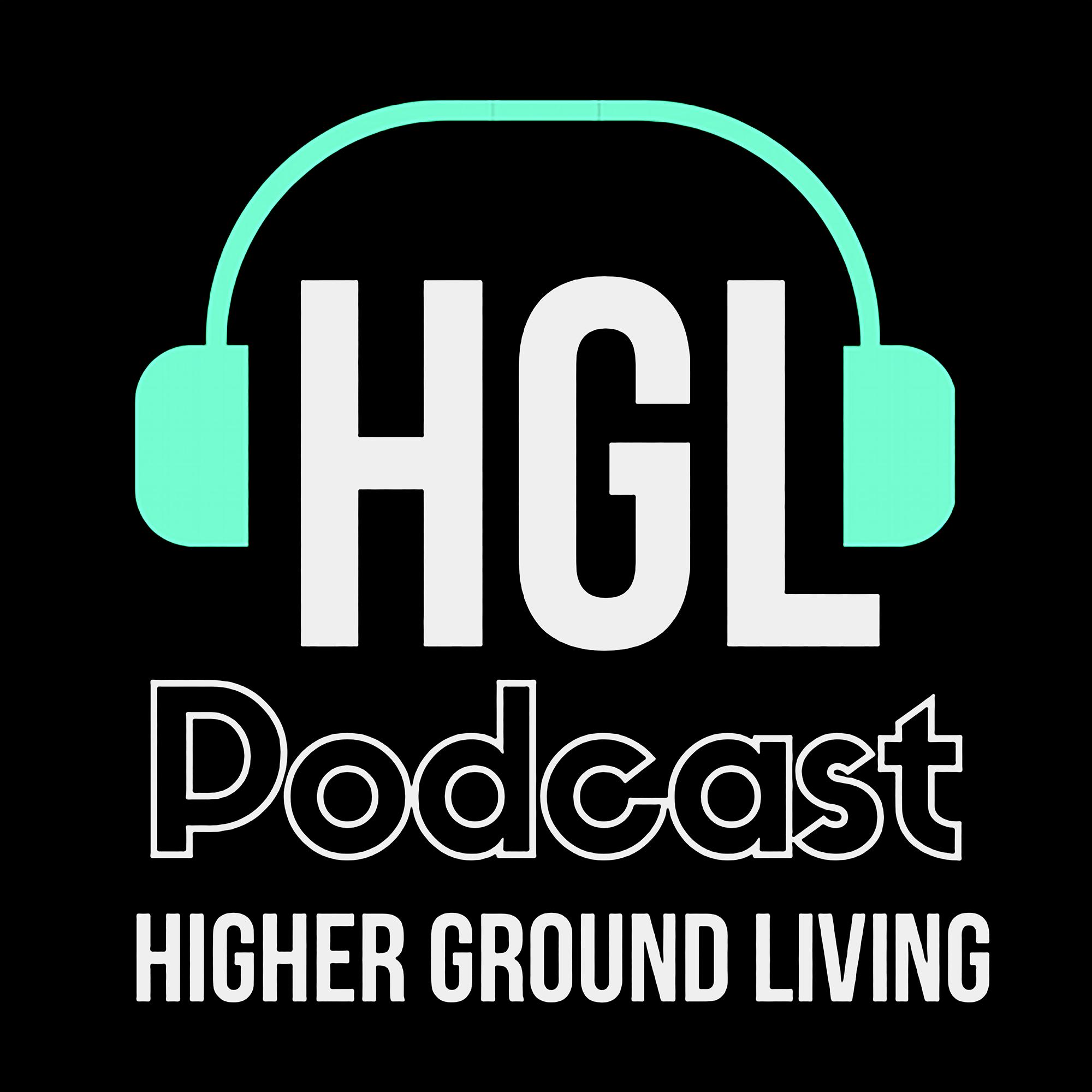 Higher Ground Living Podcast show art