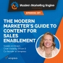Artwork for The Modern Marketer's Guide to Content for Sales Enablement
