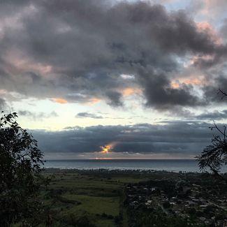Sunrise from Kauai