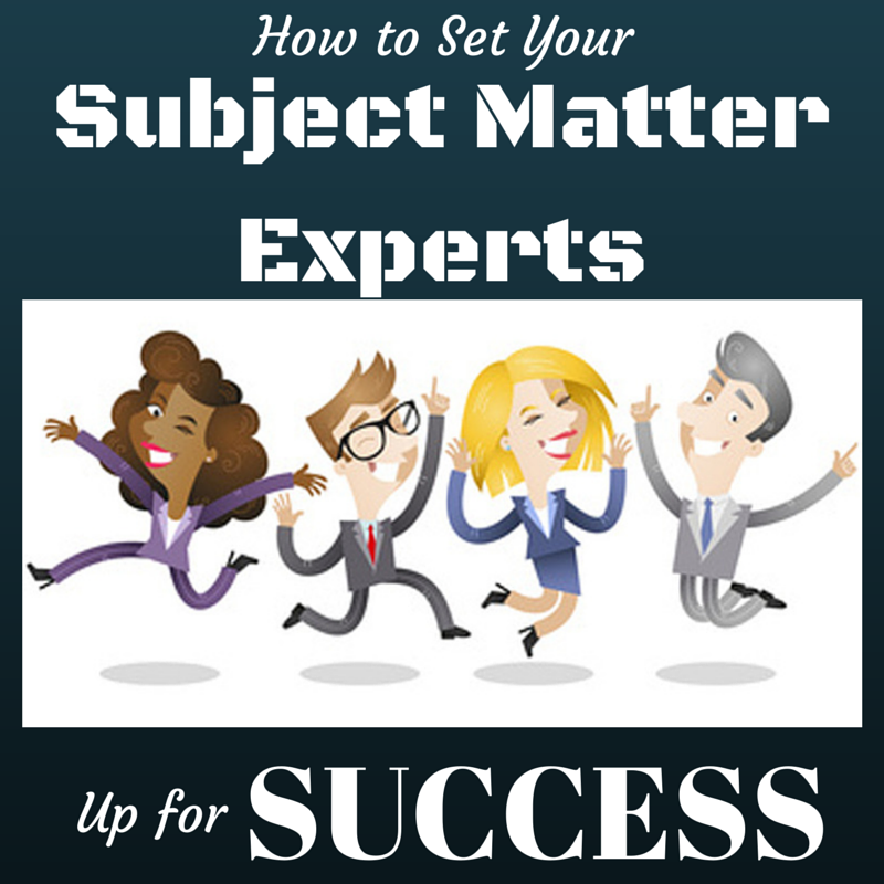 Content Marketing Podcast 121: How to Set Your Subject Matter Experts Up for Success